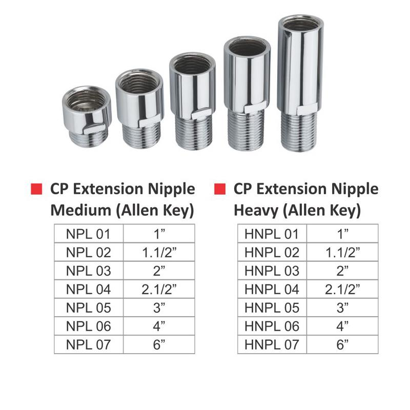 CP Extension Nipple